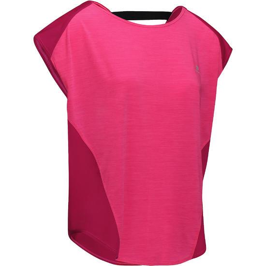 Wijd fitness T-shirt Energy voor dames - 760989