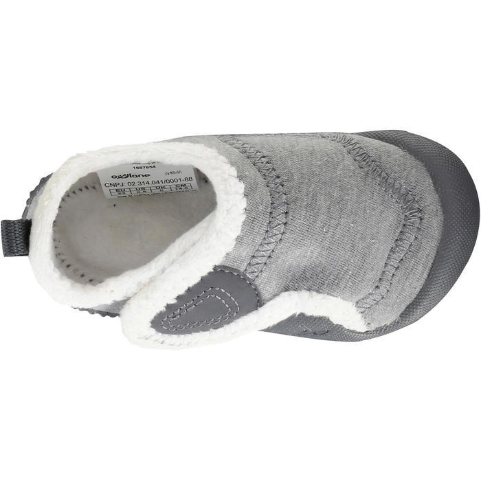Turnschuhe 550 Babylight gefüttert grau/weiß