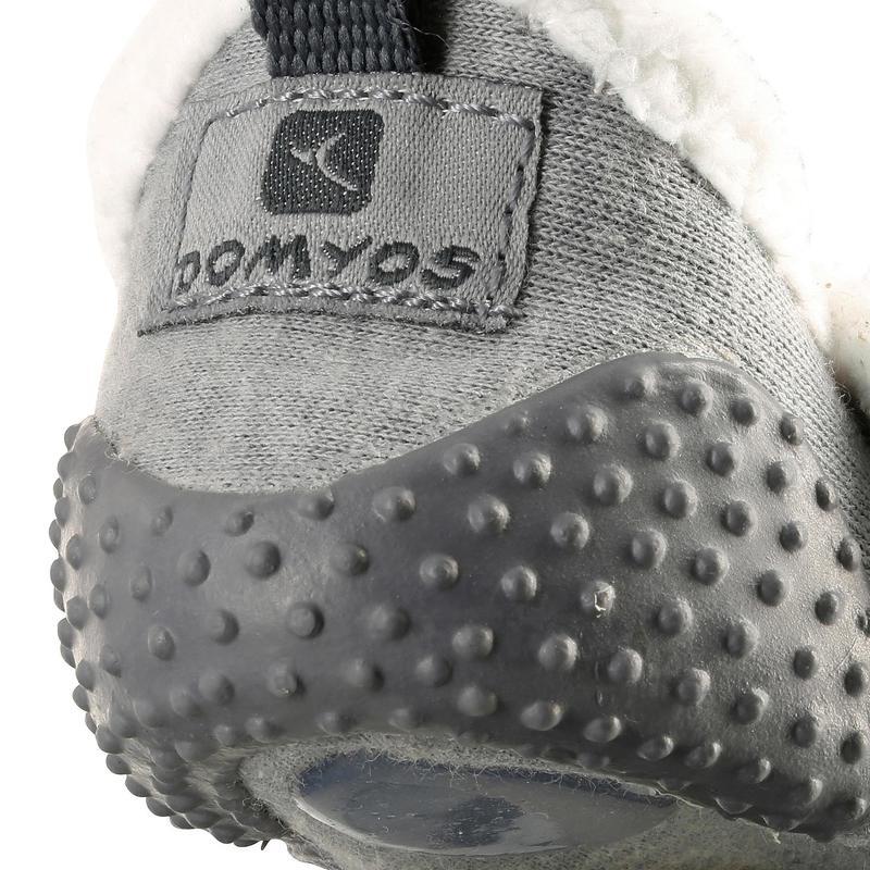 df2a503a808 Zapatillas primeros pasos 550 BABYLIGHT GIMNASIA forradas gris ...