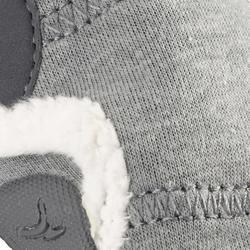 Zapatillas Gimnasia Bebé Domyos Primeros Pasos 550 Babylight Bebé Gris