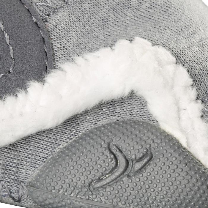 Chaussons 550 BABYLIGHT doublés gris/blanc