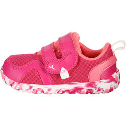 Schoentjes voor kleuterturnen Feasy Light roze/meerkleurenzool - 761471