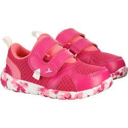 Schoentjes voor kleuterturnen Feasy Light roze/meerkleurenzool - 761474