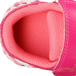 Schoentjes voor kleuterturnen Feasy Light roze/meerkleurenzool - 761477