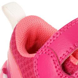 Schoentjes voor kleuterturnen Feasy Light roze/meerkleurenzool - 761479