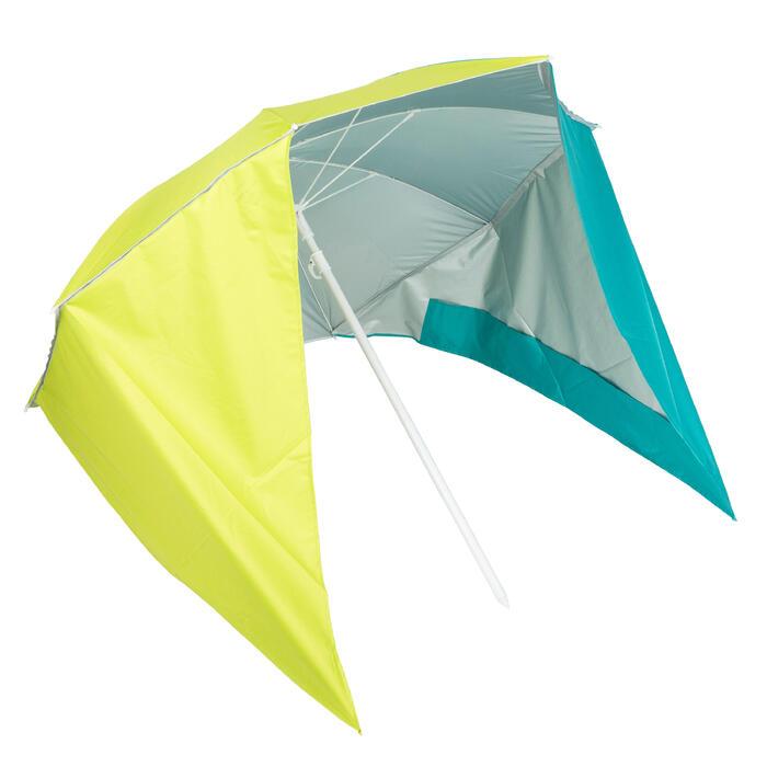 Parasol PARUV Windstop Bleu Vert