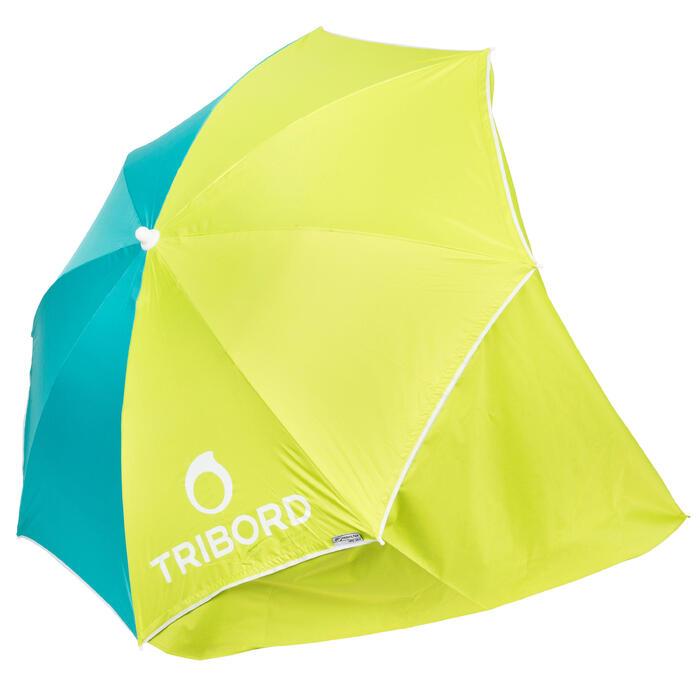 Sonnenschirm Paruv Windstop blau/grün