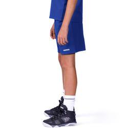 Basketbalbroekje B300 kinderen blauw - 762581