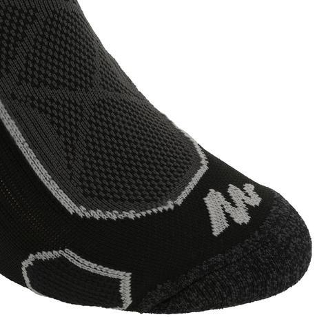 Chaussettes de randonn e montagne tiges high 2 paires forclaz 500 noir gris quechua - Hamac sur pied decathlon ...