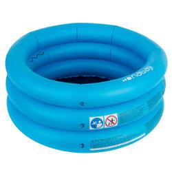 Opblaasbaar zwembadje met 3 banden. Diameter: 70 cm, hoogte: 30 cm.