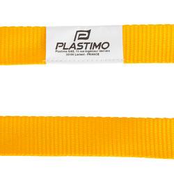 Lifeline met 2 veiligheidsmusketons geel - 762736