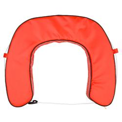 Bouée fer à cheval bateau orange