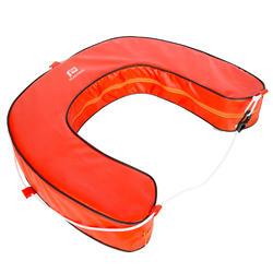 Rettungsring Hufeisenform Segeln orange