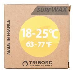 Wax surf  eau 18 25°C jaune