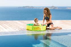 Tidipool zwembadje van 88,5 cm diameter met een waterdichte draagtas - 763268