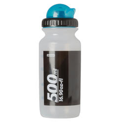 Bidon 500 ml doorzichtig met kapje - 763669