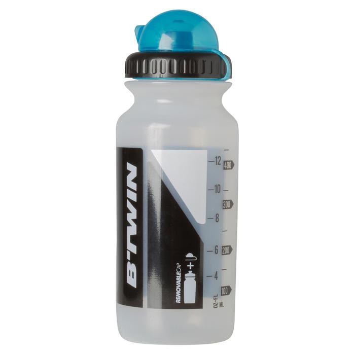 Bidon cycle 500 ml transparent avec capuchon
