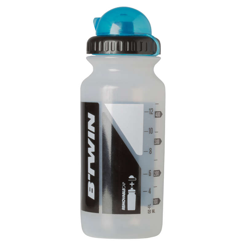 BORRACCE E PORTABORRACCE Ciclismo, Bici - Borraccia 500ml trasparente BTWIN - ACCESSORI MTB ALL MOUNTAIN