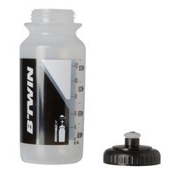 Bidon 500 ml doorzichtig met kapje - 763678