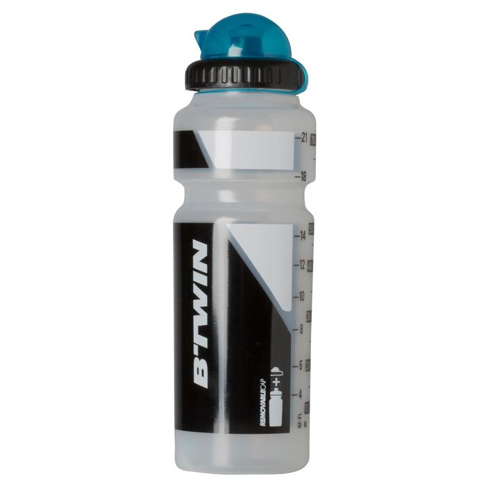 Bidon cycle 750 ml transparent avec capuchon - 763684
