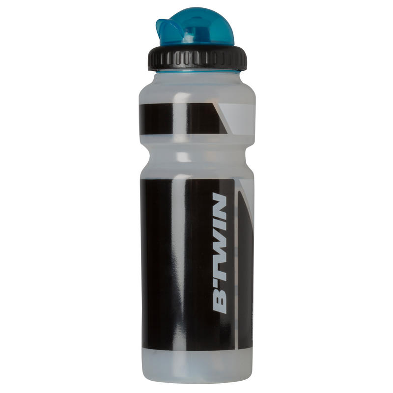 Cycling Water Bottle With Cap 750ml - Transparent