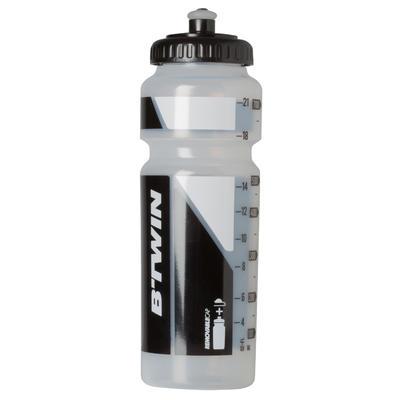 Caramañola ciclismo 750 ml transparente