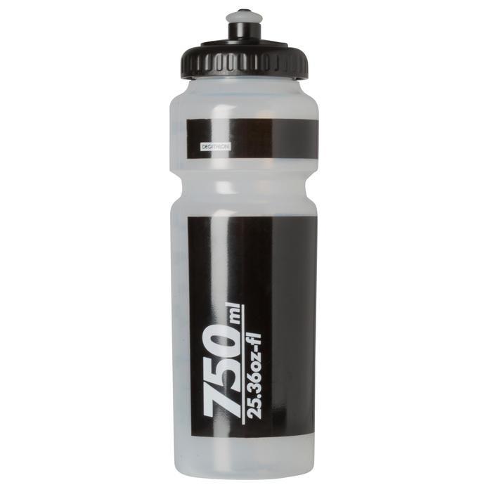 Bidon 750 ml doorzichtig met kapje - 763691