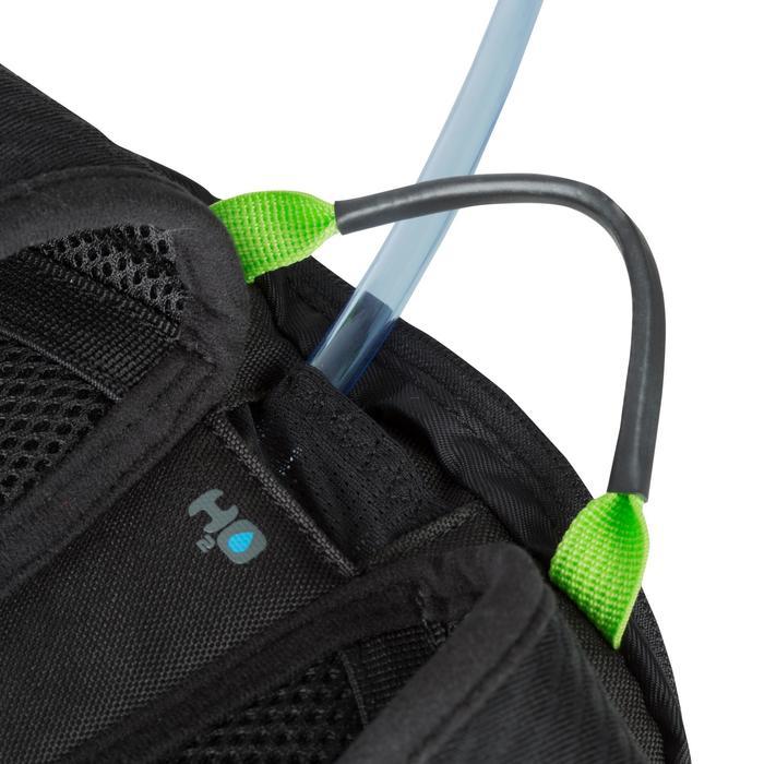 Fietsrugzak met 1L waterzak ST 500 fluogeel 3 L zwart/groen