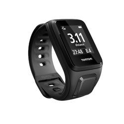 Montre GPS Runner 2 noire (bracelet fin)