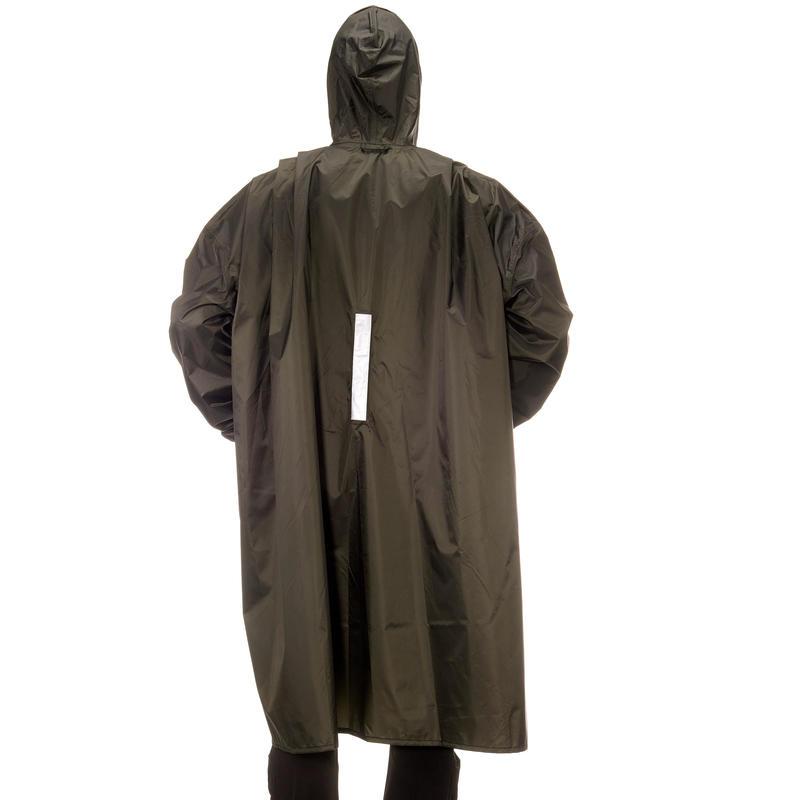 เสื้อกันฝนสำหรับการเทรคกิ้งรุ่น Arpenaz ขนาด 40 ลิตร XXS/XS (สีเทาเข้ม)