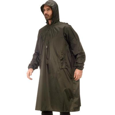 שכמיית גשם לטילולים Arpenez 40 ליטר S/M - אפור כהה