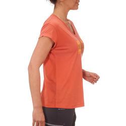 T-shirt korte mouwen trekking dames Arpenaz 100 - 764608