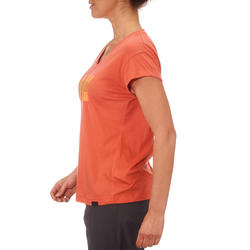 T-shirt korte mouwen trekking dames Arpenaz 100 - 764610