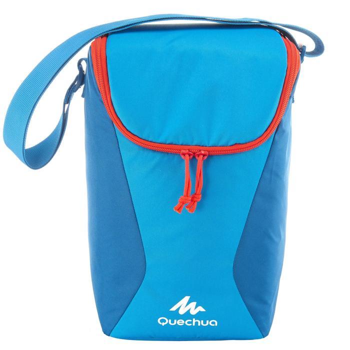 Koeler camping/trekking Compact 10 liter blauw - 764819