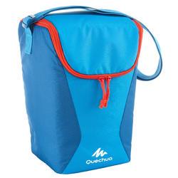 Koeltas voor kamperen / trekking Arpenaz 10 liter blauw