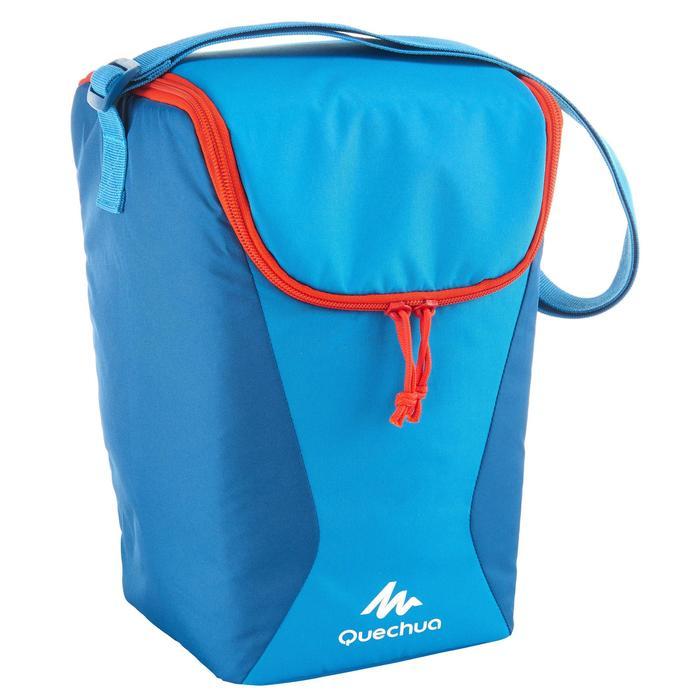 Koeler camping/trekking Compact 10 liter blauw - 764821