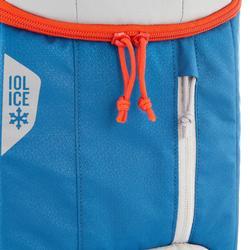Hielera de campamento Forclaz ICE BP 10 l. azul