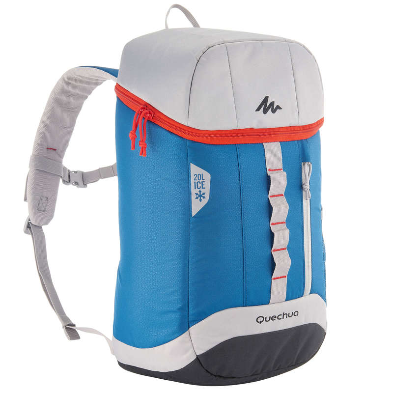 HIKING CAMP COOL BOXES Camping - Forclaz Ice Cool Bag 20 L - Blue QUECHUA - Camping Cooking Equipment