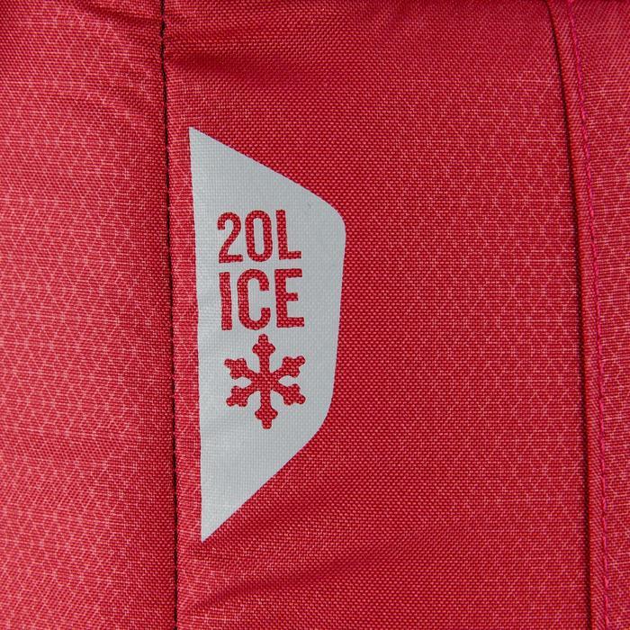 Koeltas natuurwandelen 20 liter rood