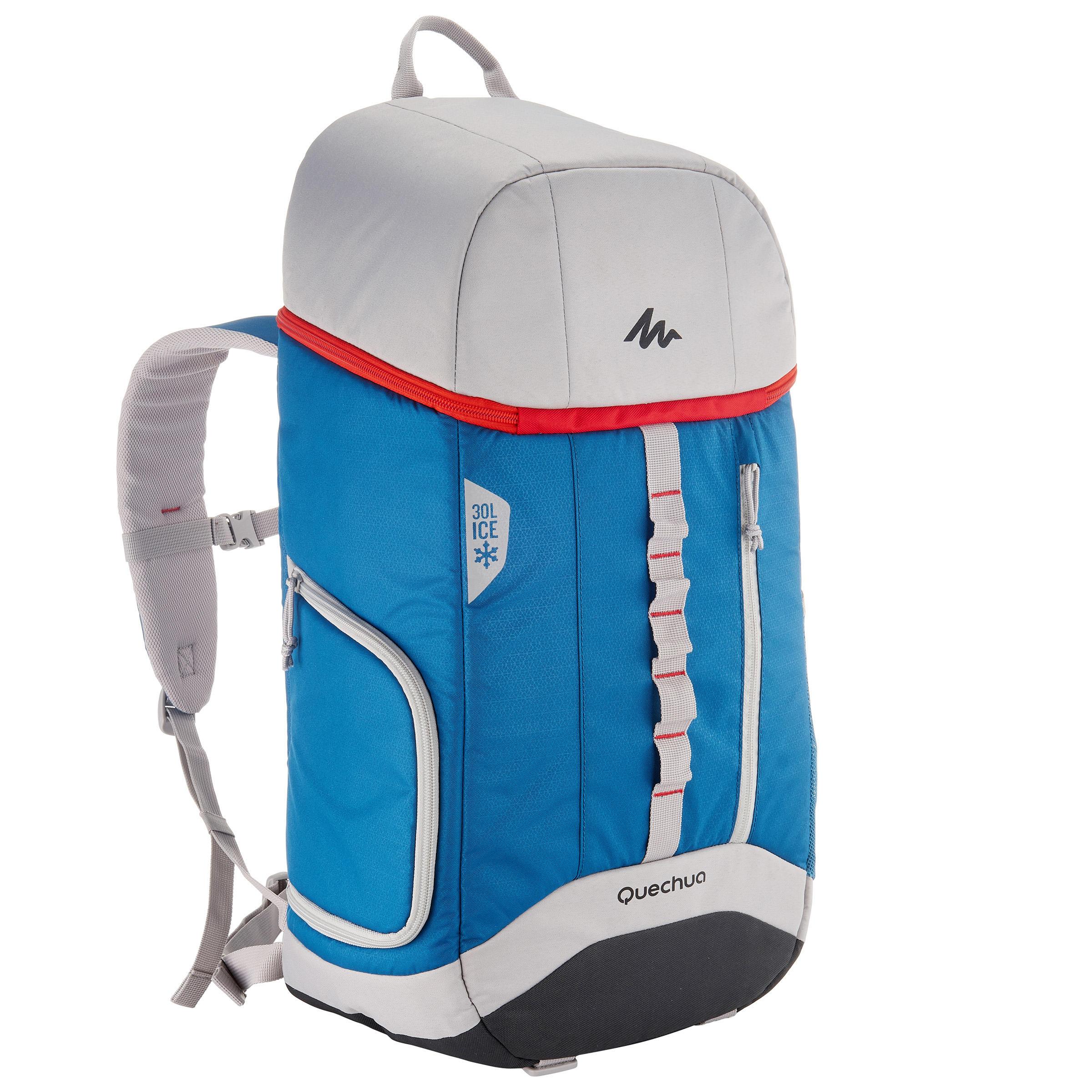 Quechua Koelrugzak voor trekking Forclaz 30 liter blauw