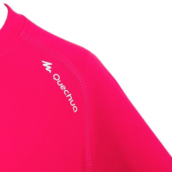 Camiseta travesía niña Hike 100 rosa