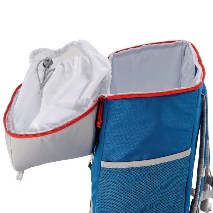 Koelrugzak 30 liter voor wandelen en hiken blauw