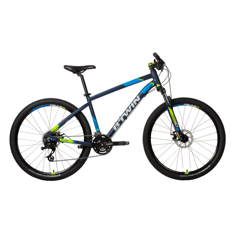 Rockrider 520 27.5_QUOTE_ Mountain Bike - Navy Blue