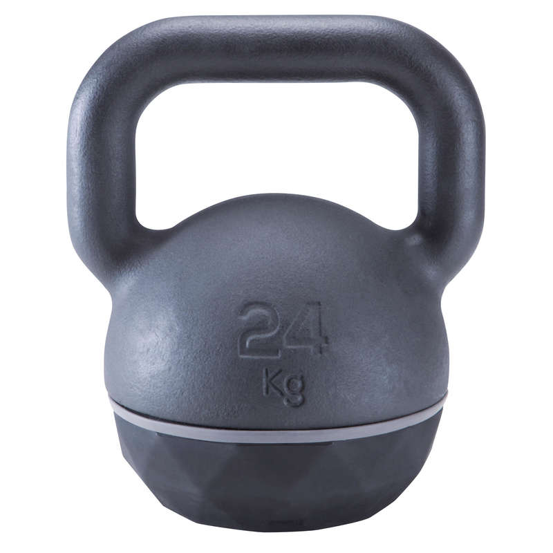 ACCESSORI E MATERIALE CROSS TRAINING Fitness - KETTLEBELL 24kg DOMYOS - Attrezzi palestra