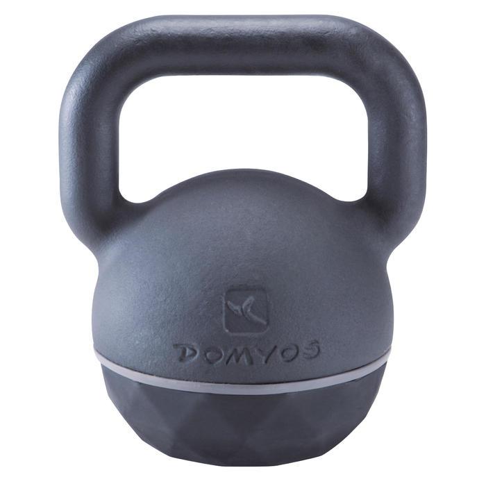 Kettlebell Cross Training Musculación Domyos 24 Kg Negro/Gris