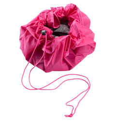 Bolsa y tapete PTWO fitness fucsia
