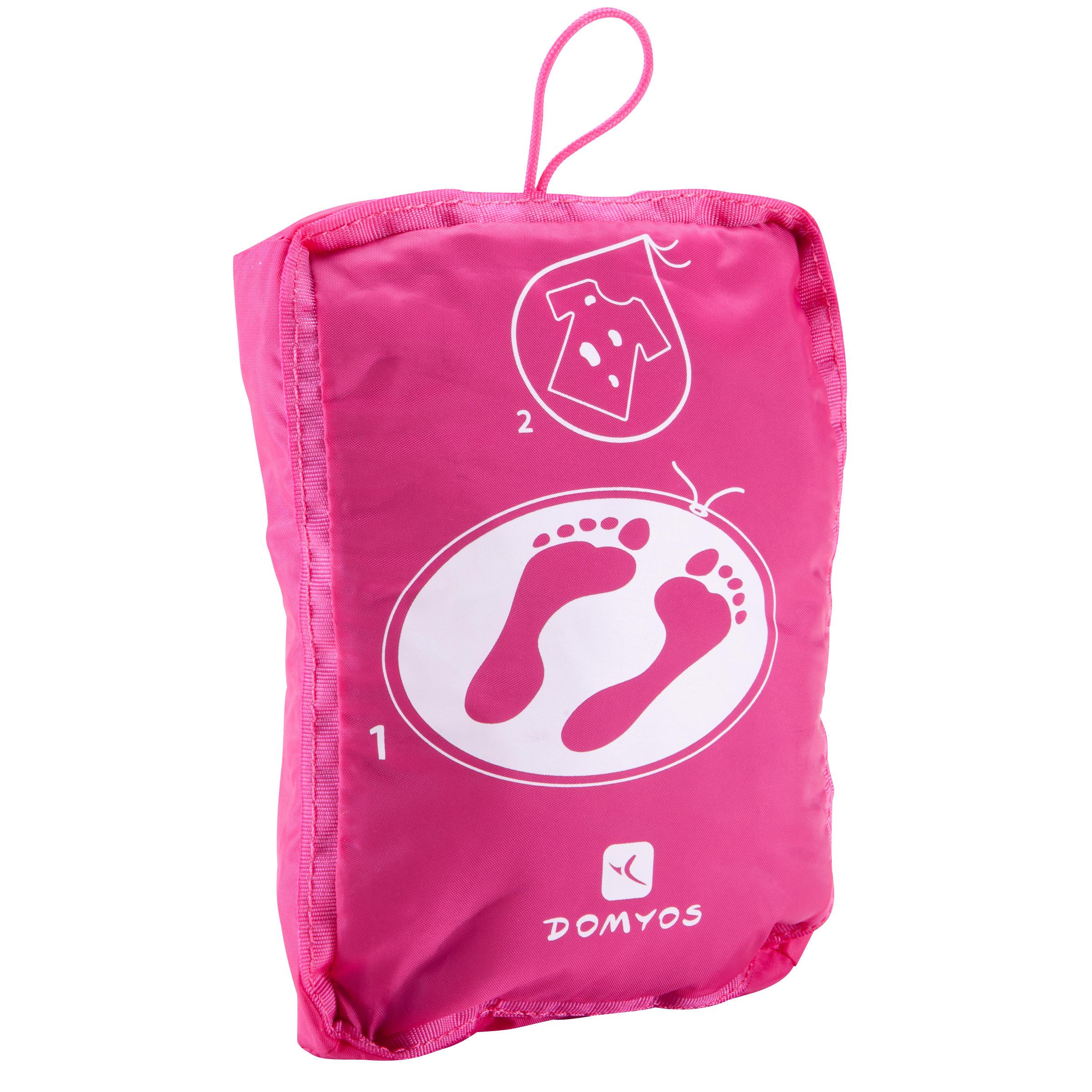 Bolsa fitness rosa PTWO Domyos