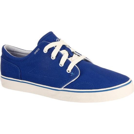 lage schoenen skateboarden/longboarden volwassenen Vulca Canvas L petroleum - 765675