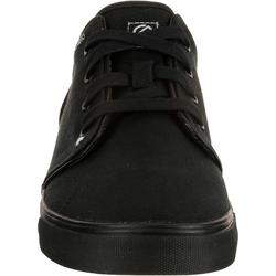Chaussures basses skateboard-longboard adulte VULCA 100 CANVAS full black