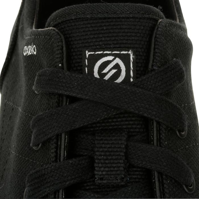 Chaussures basses skateboard-longboard adulte VULCA CANVAS full black